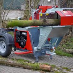 Collino wipzaag met 9 pk benzine motor